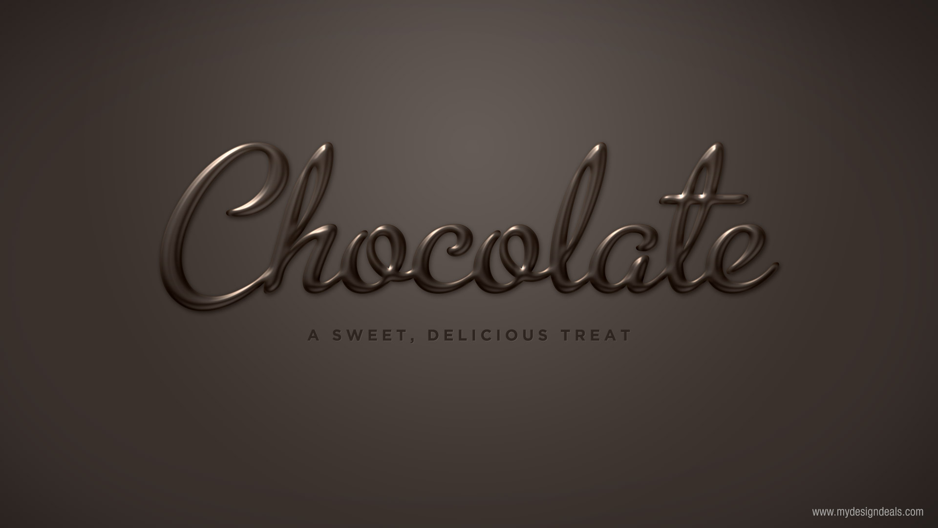 Create A Smooth Chocolate Text Effect In Photoshop A Graphic Design Blog