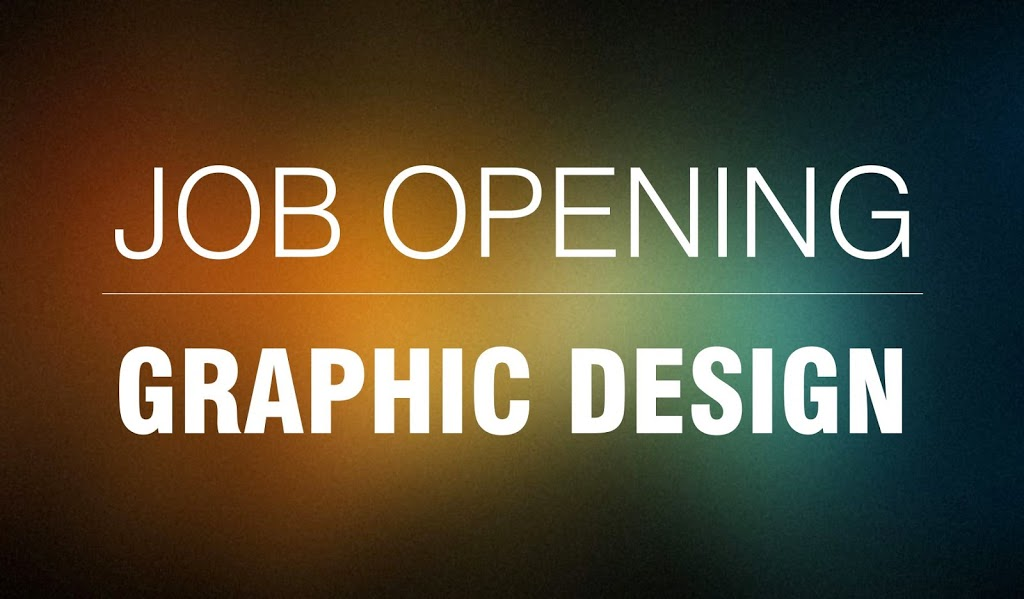 Job Opening In Graphic  Web Design  A Graphic Design Blog