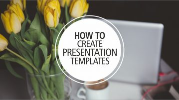 How To Create A Presentation Template