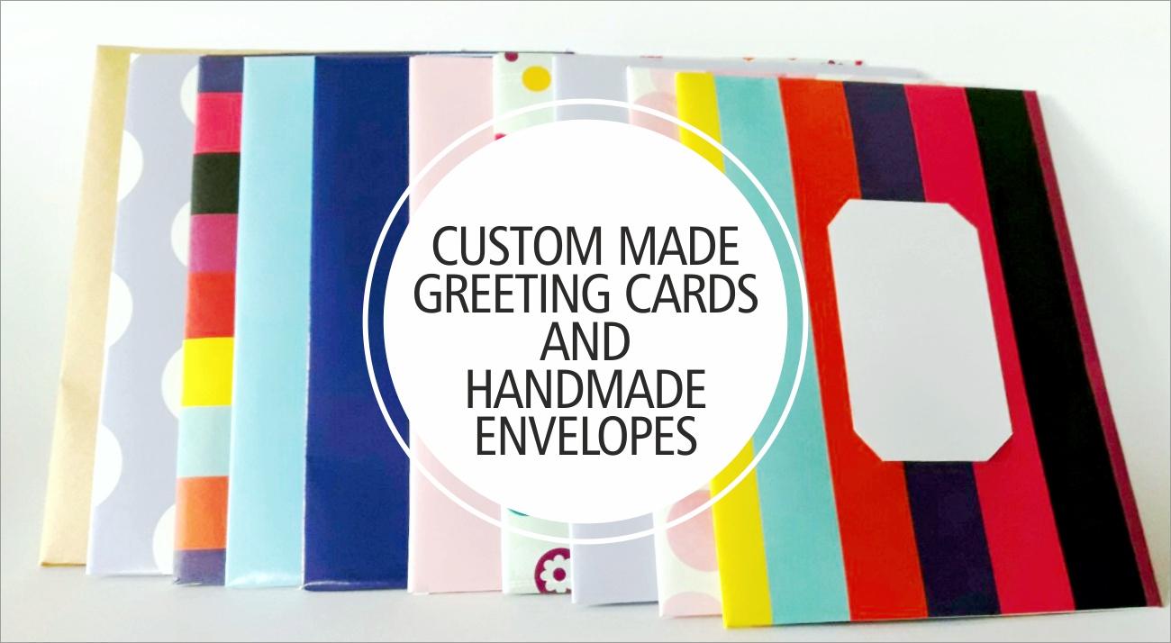 Handmade Envelopes And Custom Greeting Cards A Graphic Design Blog