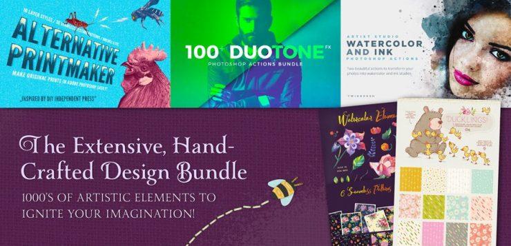 98% Off Hand-Crafted Design Bundle